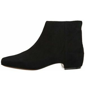Nine West Suede Flat Boots